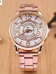 l'alliage de quartz dame, Suisse Suivre papillon acier mode de montre de bande