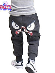 Boy's Summer/Spring/Fall Micro-elastic Medium Pants (Cotton Blend)