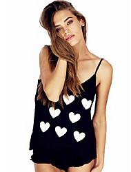 Han&Chloe® Women's CLOTHING STYLE Elasticity Sleeve Length Top Length Top Style (Fabric)