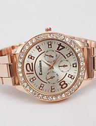 Women's Watch Lovers Fashion Diamond Watches Swiss Quartz Alloy Steel Watch Cool Watches Unique Watches