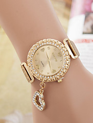 Women's Watches Fashion Lady Full Diamond Quartz Watch Bracelet Pendant Cool Watches Unique Watches