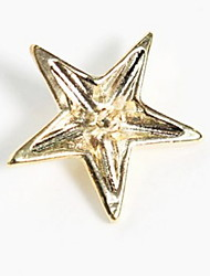 Fashion Five-pointed Star Brooch Shirt Collar Button