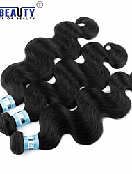 "3 Pcs /Lot 8""-30""5A Peruvian Virgin Hair Body Wave Hair Extensions 100% Unprocessed Remy Human Hair Weaves"