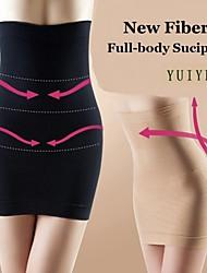 YUIYE® Women Seamless Slimming Body Shaper Dress Tube Control Slips Half Boob Tube Shapwear Waist Cincher Corset