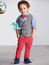 Boy's Cotton Blend Clothing Set , All Seasons Long Sleeve