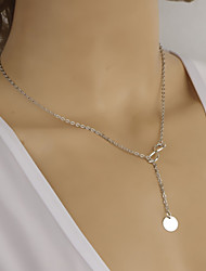 Women's Fashion Metal Simple 8 Word Clavicle Chain Necklace