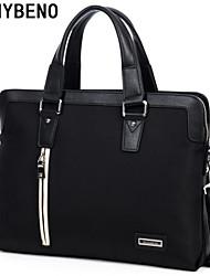benybeno bolsa bussiness maletín de mano-oxford paño de los hombres negro