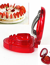 Kitchen Gadgets Strawberry Slicer Fruit Cutter Kitchen DIY Tools