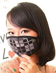 아름다운 방진 마스크 얼굴 마스크 의료 거즈 마스크 겨울 열 자외선 차단제 얼굴 마스크 (랜덤 색상)