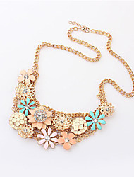 Haha New Arrival Fashion Sweet Popular Flower Necklace