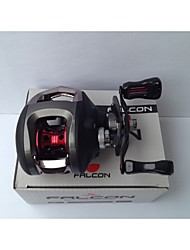 FALCON LP200R 6.3:1 10+1RB Ball Bearings Bait Casting Baitcast Reels Right-handed