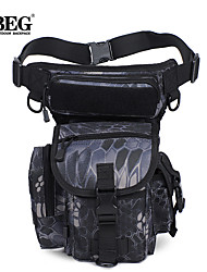 iBeg bolsa militar paquete de la cintura táctica caída deporte al aire libre bolsa de pierna motocicleta ciclismo bolsa muslo cinturón