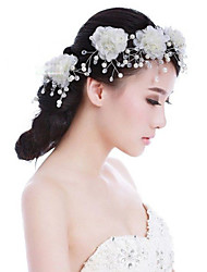 Pearl Hair Flower Bride Hair Wedding Headdress Wedding Accessories One Piece