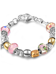 Women's Casual Sweet Colorful Charm Bracelet