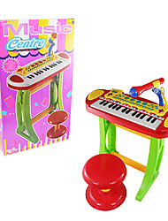 Musical Instrument Multi-function Electronic Organ Keyboard With Microphone