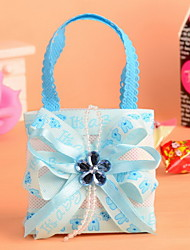 Non Woven Fabric Baby Shower Candy Favor Bags Wedding Favor  Bag Set of 12