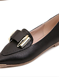 Women's Shoes Flat Heel Mary Flats Casual Black/White