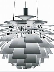 40W Lustres ,  Contemprâneo Cromado Característica for Estilo Candle MetalSala de Estar / Quarto / Sala de Jantar / Banheiro / Quarto de