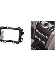 fascia radio de voiture pour Nissan Murano plaque de planche de bord kit d'installation surround garniture