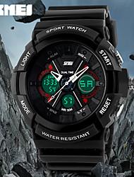 skmei® mode montre design sport analogique-numérique double fuseaux horaires / calendrier / chronographe / alarme pour hommes