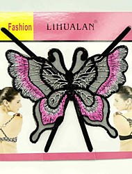 귀여운 기 batterfly 패턴 보이지 않는 뒷면 속옷 끈 (모듬 색상)