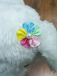 Cute Sunflower Hairpin Hair Accessories for Pet Dogs Cats