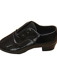 Sapatos de Dança ( Preto/Azul/Castanho ) - Mulheres - Customizáveis - Latim