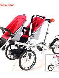 коляска-велосипед для близнецов ruituo ™ кабриолет коляска 3 в 1 мать и ребенок семьи велосипед для ребенка двойной