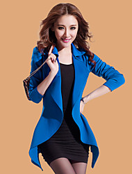 Women's Long Sleeve Blazer Long Sexy