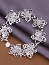 Cooper Women's Korean-style Fashion Silver-plated Bracelets