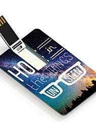 Esperança 64gb na unidade flash USB Cartão do projeto as coisas