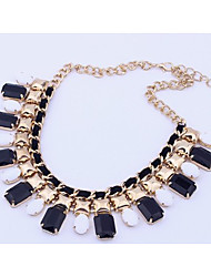 Color of candy colors collarbone chain