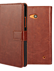 YMX-Crystal Surface PU Leather Full Body Case with Card Slot for Microsoft Lumia 640(Assorted Color)