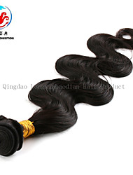 6A 14Inch Body Wave Fashionable Best Quality 1B Wholesale Price 100% Unprocessed Virgin Brazilian Hair Weaving