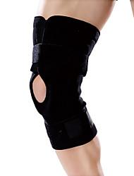 Ollas Unisex Outdoor Fitness One Piece Black Nylon Professional Three Hub Al Knee/Legs Protective Gear Free Size S9404
