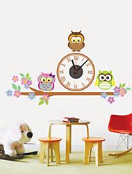 Horloge murale - Rond/Nouveauté - Moderne/Contemporain - en Plastique