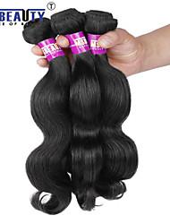 """3 pc / lotto 8 """"-30"""" 7 bis vergine dei capelli umani indiani dell'onda del corpo dei capelli tesse"""