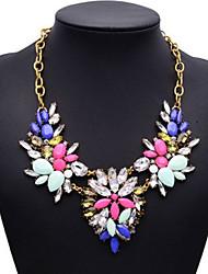 Fashion Jewelry Luxury Women Flower Pendant Necklace