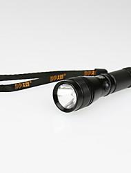 LED Taschenlampen (rutschfester Griff) - LED 1 Modus >18 Lumen 18650 Andere Batterie - Für den täglichen Einsatz Andere