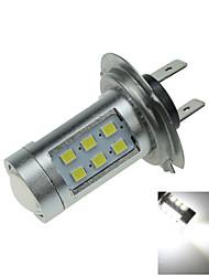 1X Car Bulb White 21 SMD 2835 LED H7 Fog Light Foglight PX26d High Power H170