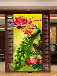 3D Stereoscopic Painting The New Rich And Elegant Diamond Peacock Fig Paste Stitch