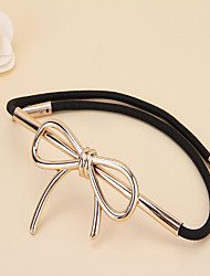 Women Bowknot Fashion Belts Party/Casual Alloy Others Wide Belt