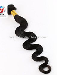 "16"" Natural And Comfortable Fashionable In European Indian Remy Human Hair Body Wave Weft"