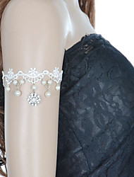 Bracelet Tennis Perle/Corde Femme