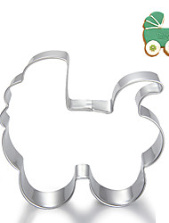 Baby's Carriage / Stroller Shape Cookie Cutters  Fruit Cut Molds Stainless Steel