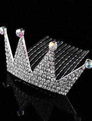 Fashion Vintage Carbonneau Vintage Rhinestone/Crystal/Diamomd Pearls Wedding Hair Cown Accessiors For Flower Girls