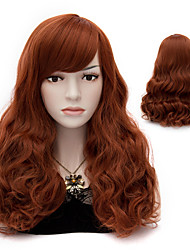 Popular  Curly Synthetic Wig Womens' Hair High Quality synthetic Wigs