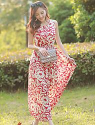 Xizi Women's Casual/Work Sleeveless Dresses (Chiffon)