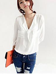 Women's White/Black Shirt , Off Shoulder ¾ Sleeve