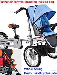 todo el conjunto de paseo-bicicleta para un solo bebé + bolsa de lado ruituo ™ carro cochecito convertible 3 ruedas madre&bebé